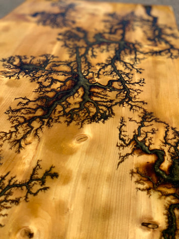 Fractal Burn & Finish Your Own Table Top