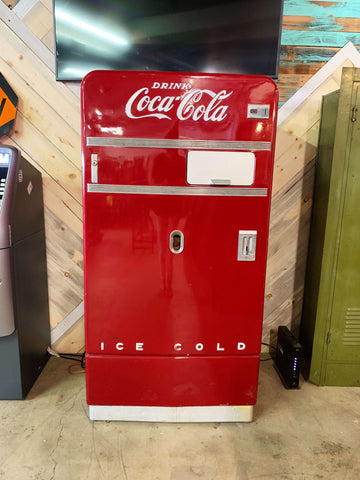 Vintage Coca-Cola Vending Machine from the 1960's