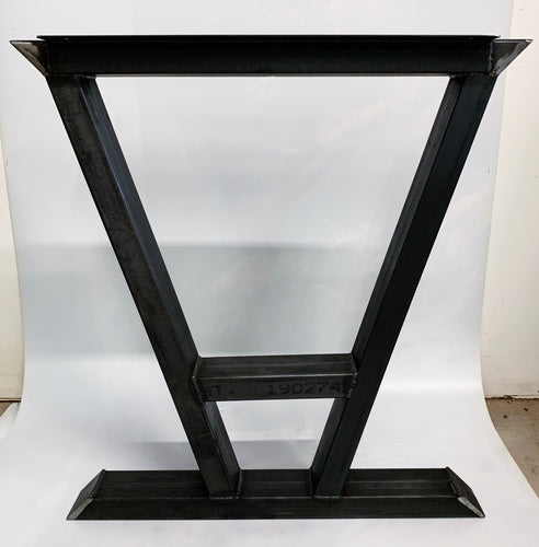Triangle Style Recycled Steel Table Base Legs