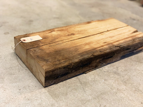 "Reclaimed Barn Wood Shelf (18"" x 8 3/4"" x 2 1/2"")"