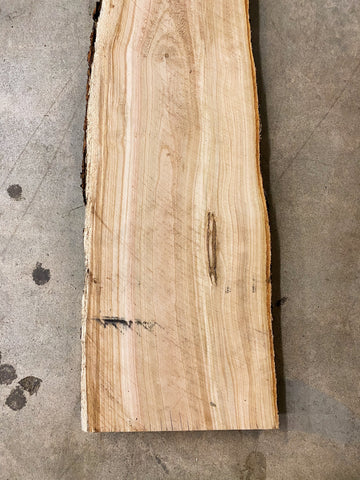 "73"" x 10"" x 2"" Sweet Cherry Live Edge Slab"