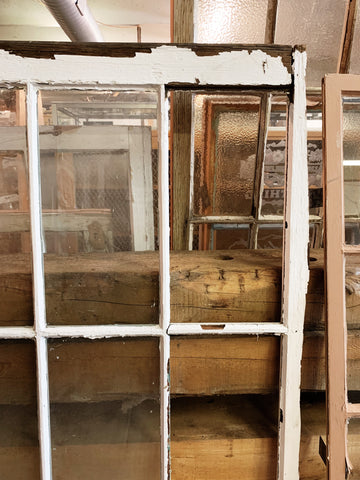 "Antique Six Pane Window - 41"" x 31"""