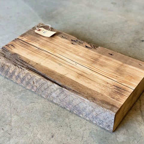 "Reclaimed Barn Wood Shelf (16"" x 8 3/4"" x 3"")"