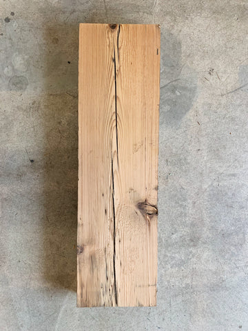 "Reclaimed Barn Wood Shelf (31"" x 9"" x 3"")"