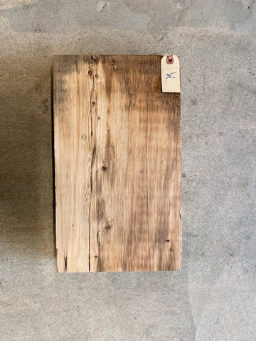 "Reclaimed Barn Wood Shelf (16"" x 9 1/2"" x 3"")"