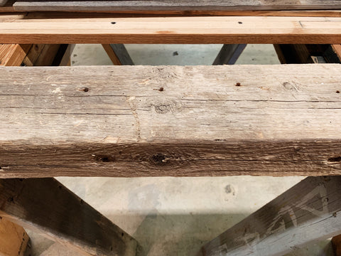 Reclaimed Wood Beam (120