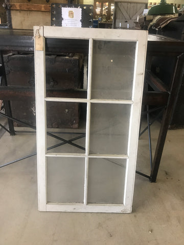 Antique 6 Pane Window 40