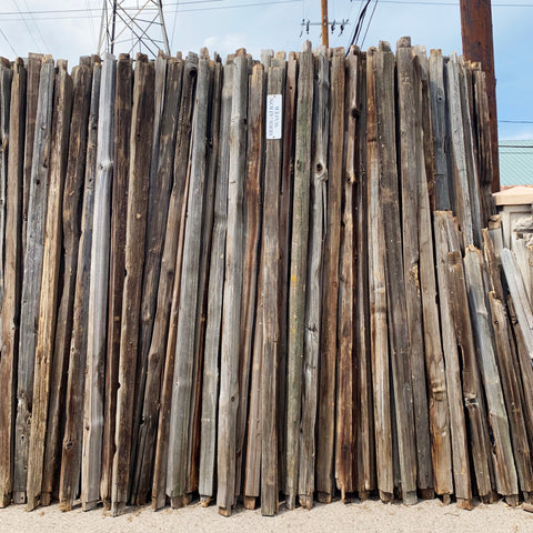 Salvaged Split Rail Fence: Rails & Posts