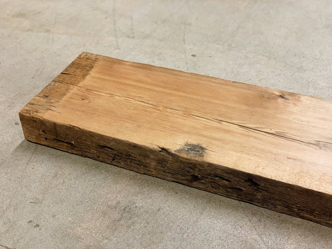 "Reclaimed Barn Wood Shelf (31"" x 8 3/4"" x 2 1/2"")"