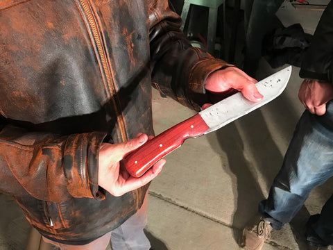 Knife Making Class with Jason Anderson