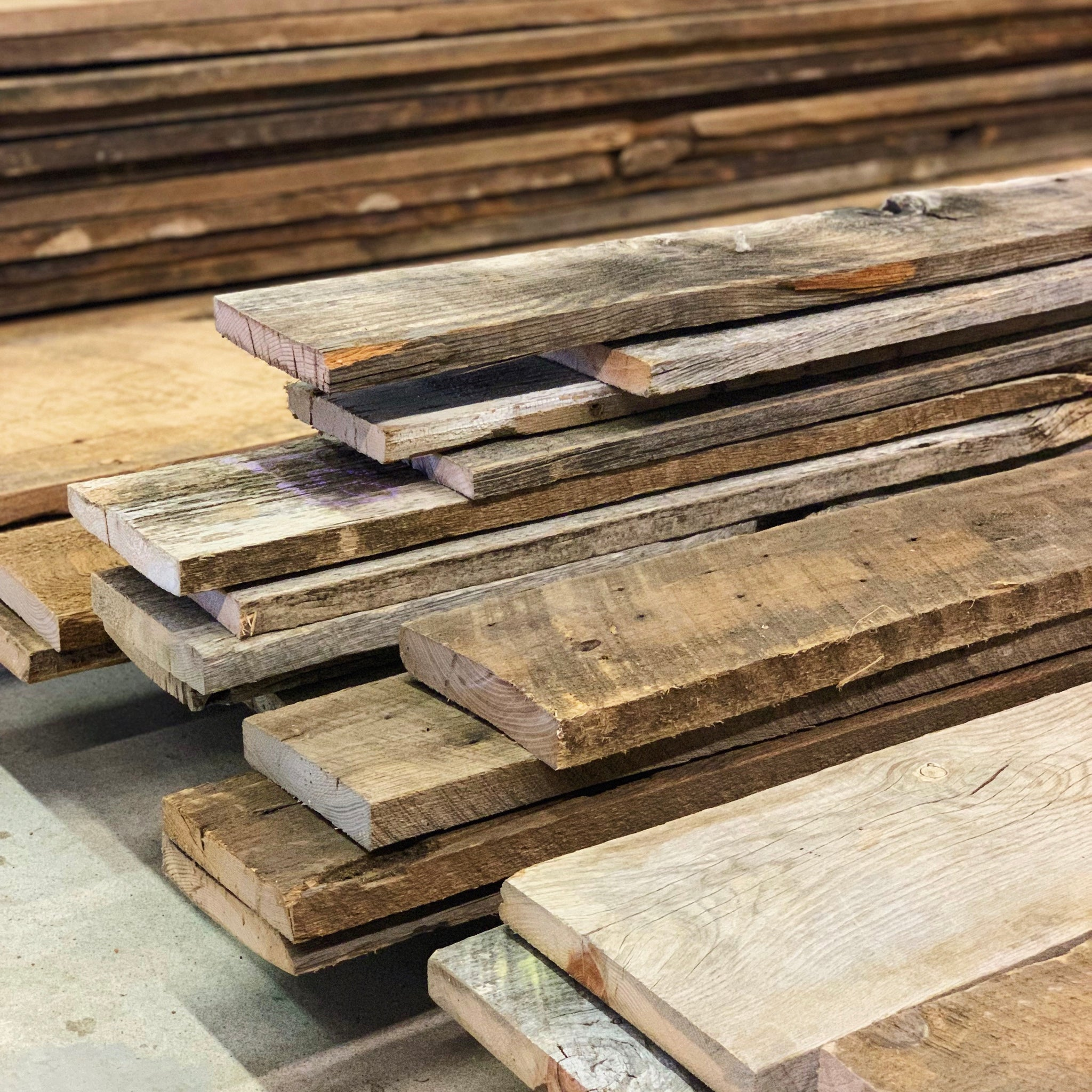 Reclaimed Lumber: Barn Wood