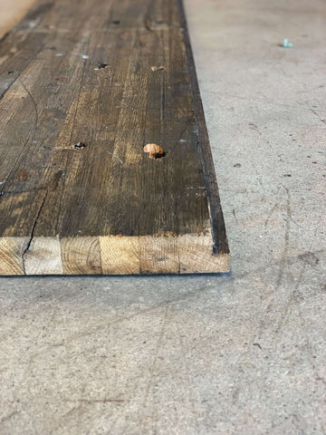 Reclaimed Oak Butcher Block