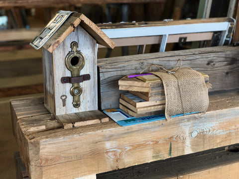 Rustic Birdhouse Kit