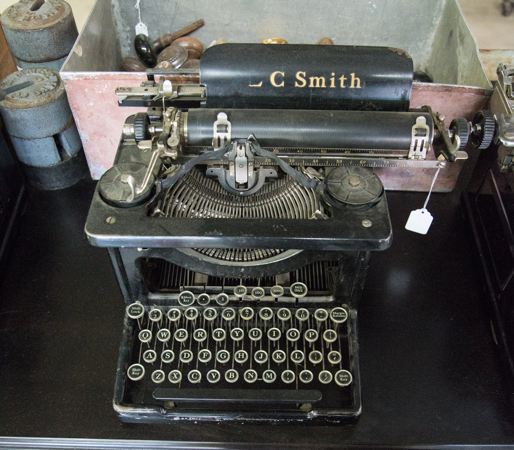 Vintage C Smith Manual Typewriter