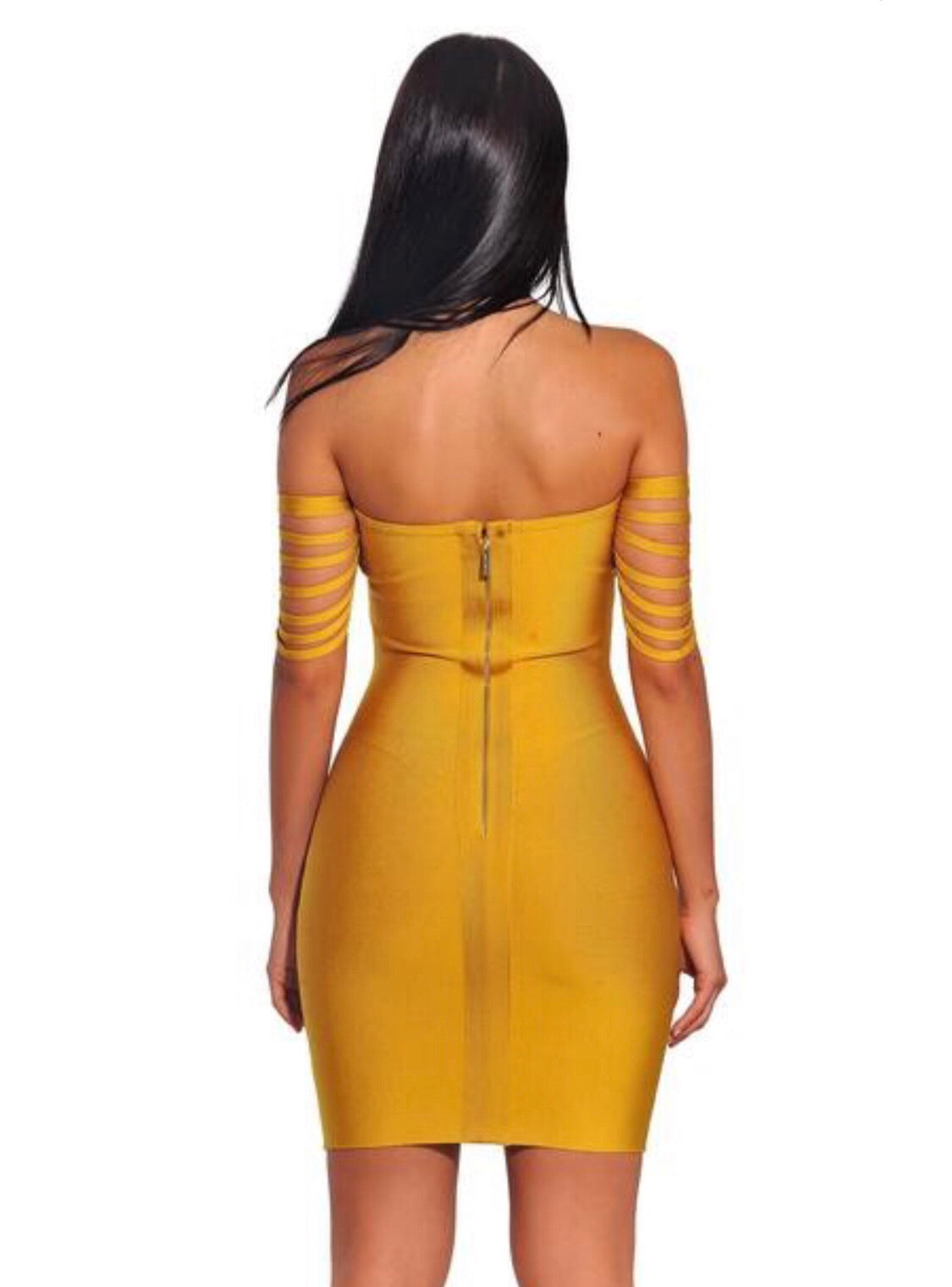 The Honey Bandage Dress