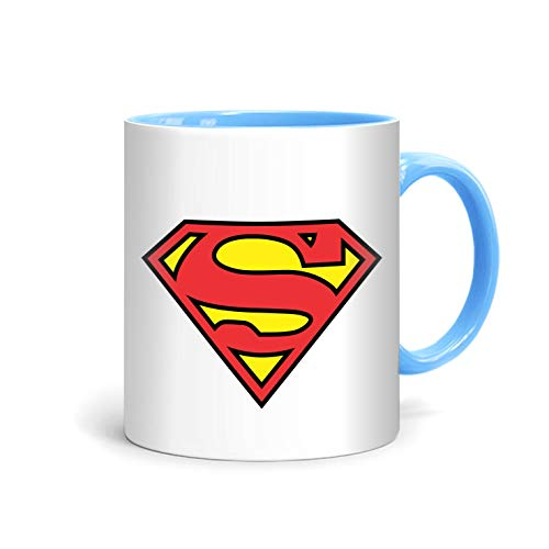 shop137 - FMstyles - Cool Superman Logo Printed Mug - FMS70-LB - FMstyles - KITCHEN