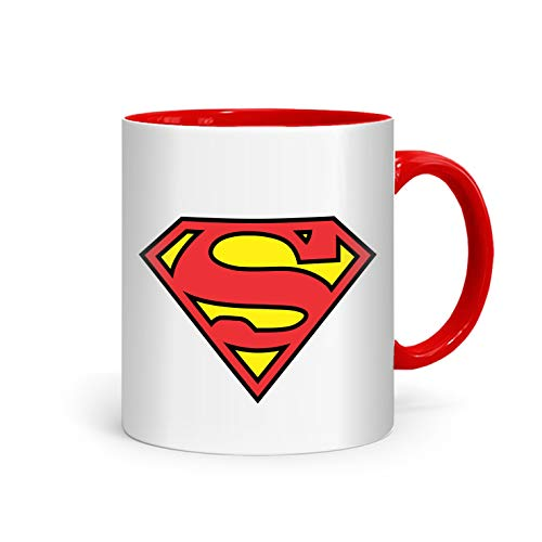 shop137 - FMstyles - Cool Superman Logo Printed Mug - FMS70-DR - FMstyles - KITCHEN