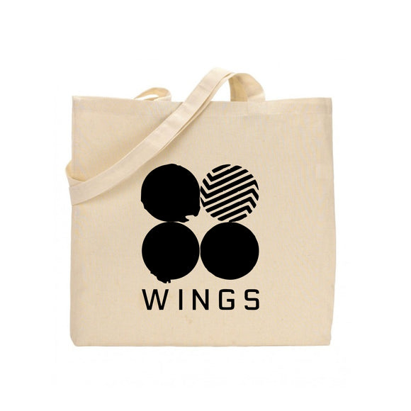 shop137 - BTS Wing Printed Tote Bag - FMstyles -