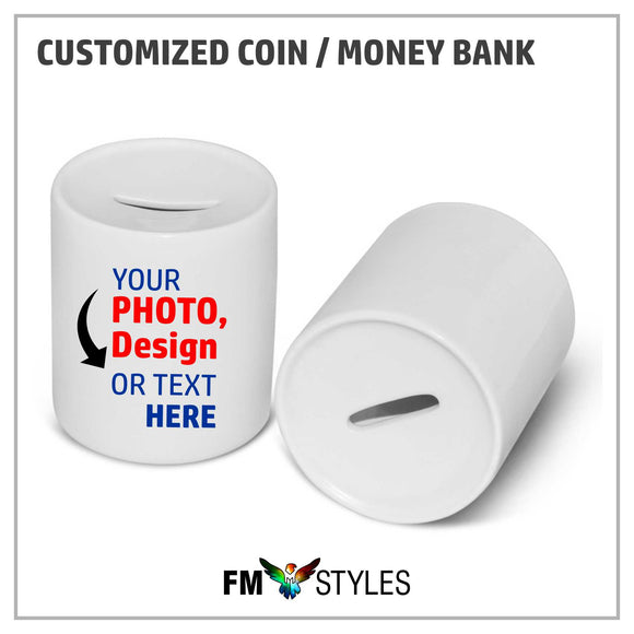 shop137 - Personalized Coin / Money Bank - FMstyles -