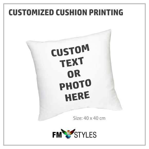 Personalized Cushion Printing