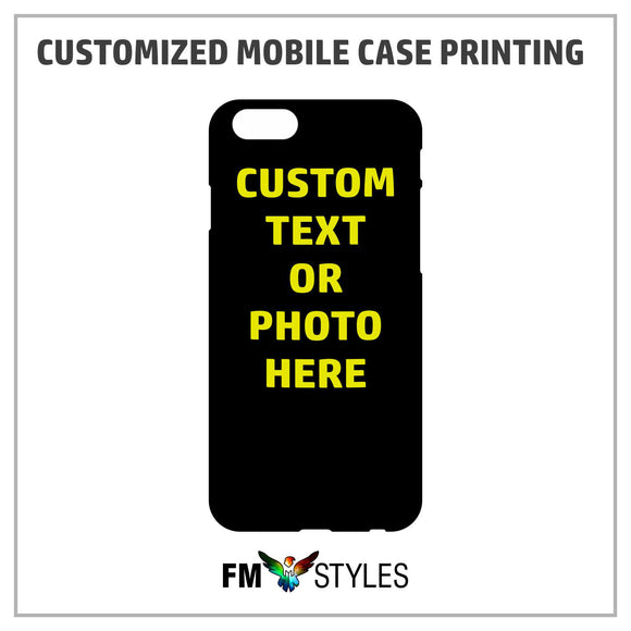 Personalized Mobile Case