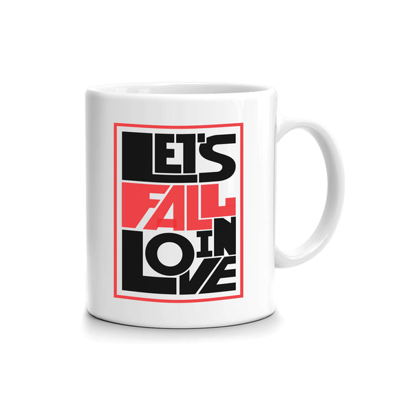 Lets Fail In Love Printed mug FMS-54