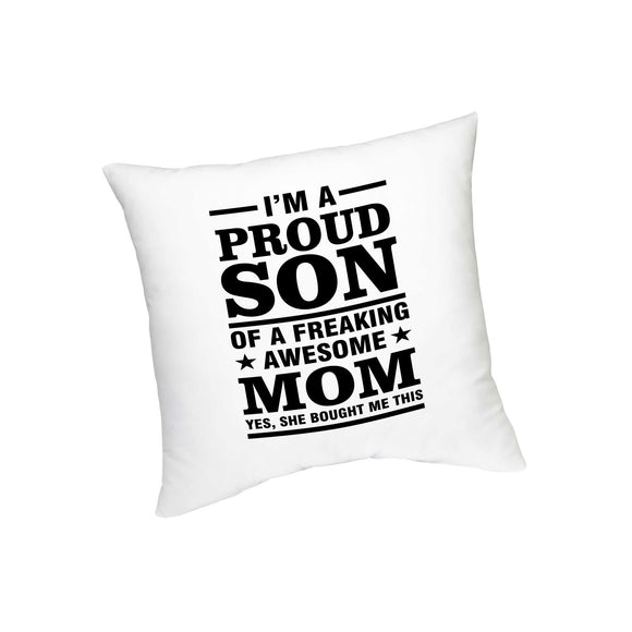 I'm A Proud Son Printed Cushion FMS-60