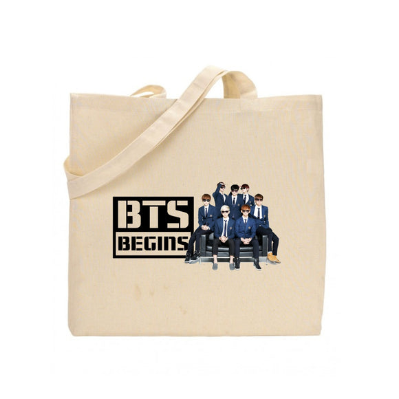 FMS-64 BTS Artistic Photo Tote Bag