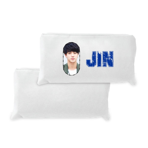 shop137 - FMstyles - BTS JIN Pen Pencil Pouch  - FMS254 - FMstyles - Pencil Pouch