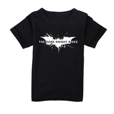 FMstyles - Batman Dark Knight Rises Black Kids Tshirt - FMSK1001