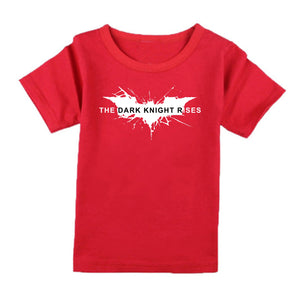 FMstyles - Batman Dark Knight Rises Red Kids Tshirt - FMSK1001