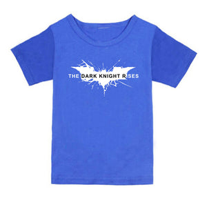 FMstyles - Batman Dark Knight Rises Royal Blue Kids Tshirt - FMSK1001