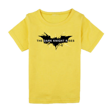 FMstyles - Batman Dark Knight Rises Yellow Kids Tshirt - FMSK1001