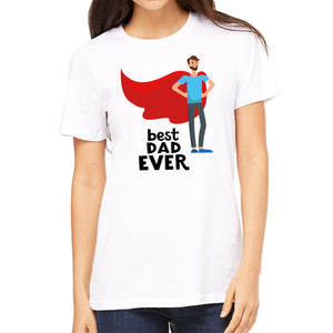 FMstyles - Best Dad Ever White Unisex Tshirt  - FMS130