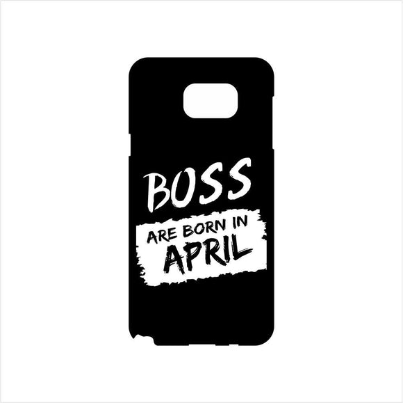 FMstyles - Boss Are Born In April Mobile Case - FMS221