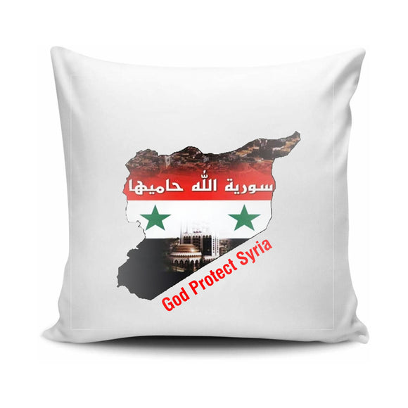 FMstyles - God protect Syria Cushion - FMS633