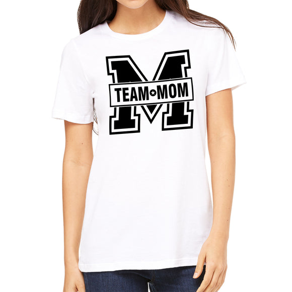 FMstyles - Team Mom Unisex White Tshirt  - FMS129