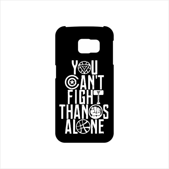 FMstyles - YOU CAN'T FIGHT THANOS ALONE Mobile Case- FMS182