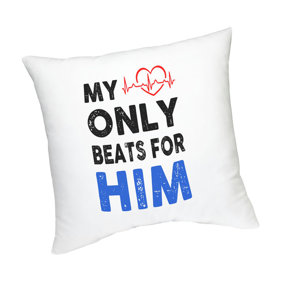 FMstyles My Heart Only Beats for HIM Cushion - FMS423