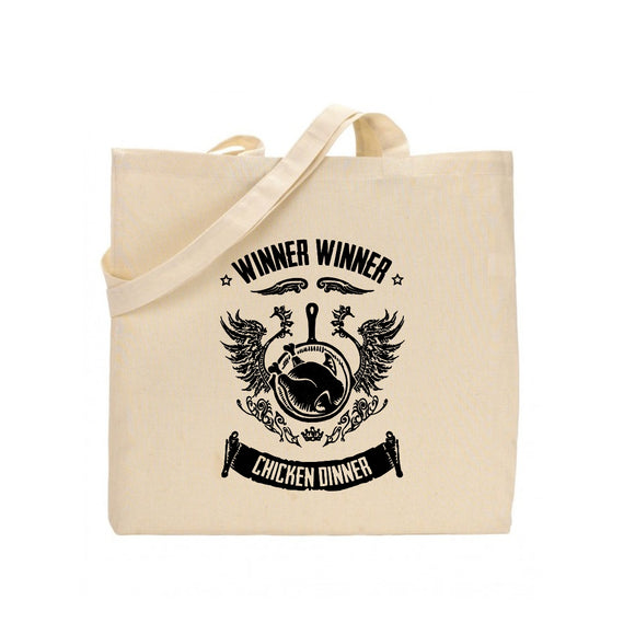 shop137 - FMstyles PUBG Winner Winner Chicken Dinner Tote Bag FMS319 - FMstyles -