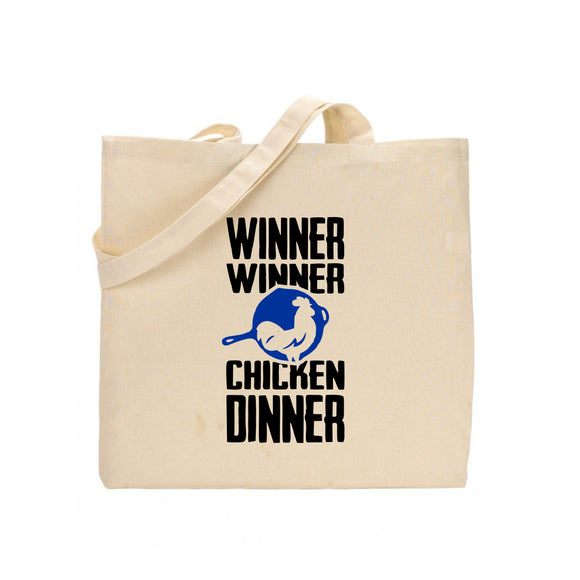 shop137 - FMstyles PUBG Winner Winner Chicken Dinner Tote Bag FMS397 - FMstyles -