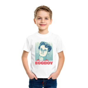 FMstyles The Famous Egg Boy Kids Unisex White Tshirt - FMS595