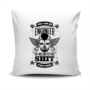 FMstyles Yes I'm an Engineer Pillow Cushion - FMS596