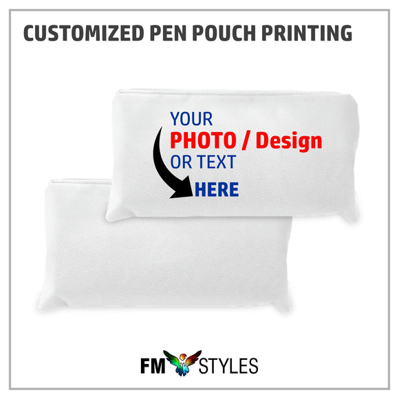 Personalized Pencil Pouch Printing