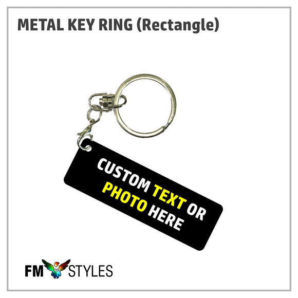 shop137 - Personalized Metal Key Ring - FMstyles -
