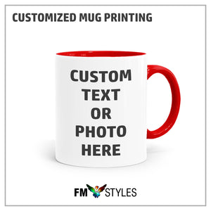 Personalized Inner Color Mug