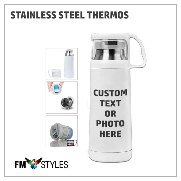 shop137 - Personalized Stainless Steel Thermos - FMstyles -