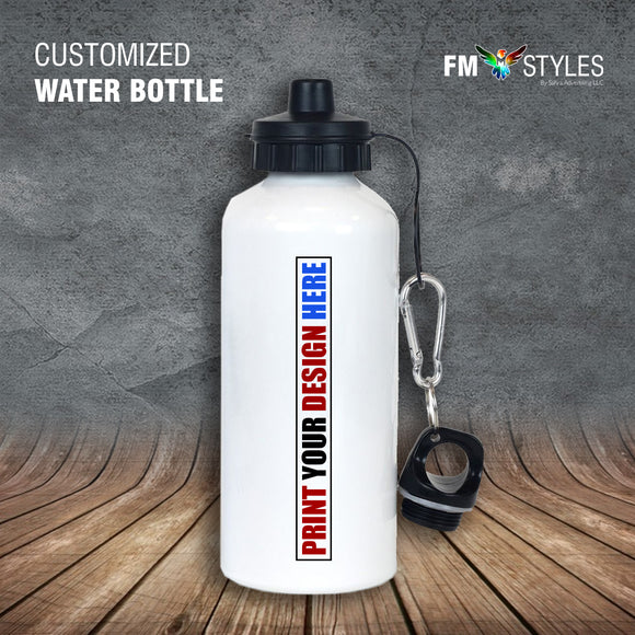 shop137 - Personalized 500ml Aluminium Water Bottle - FMstyles -