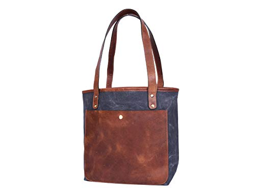 Aaron Leather Goods 15 Inch Women Tote Bag Fossil