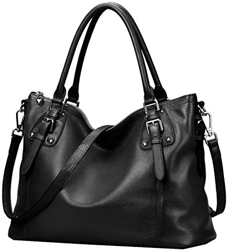 0643561148702 ... Heshe Womens Genuinne Leather Handbags Tote Top Handle Bag Shoulder Bag  for Women Crossbody Bags Ladies ...